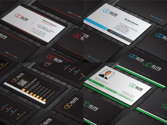 20 business card designs download
