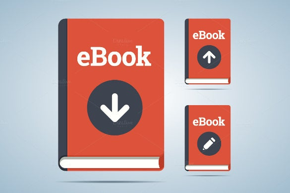 colourful ebook icon download