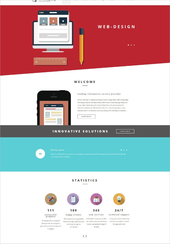 it responsive moto cms 3 blog template