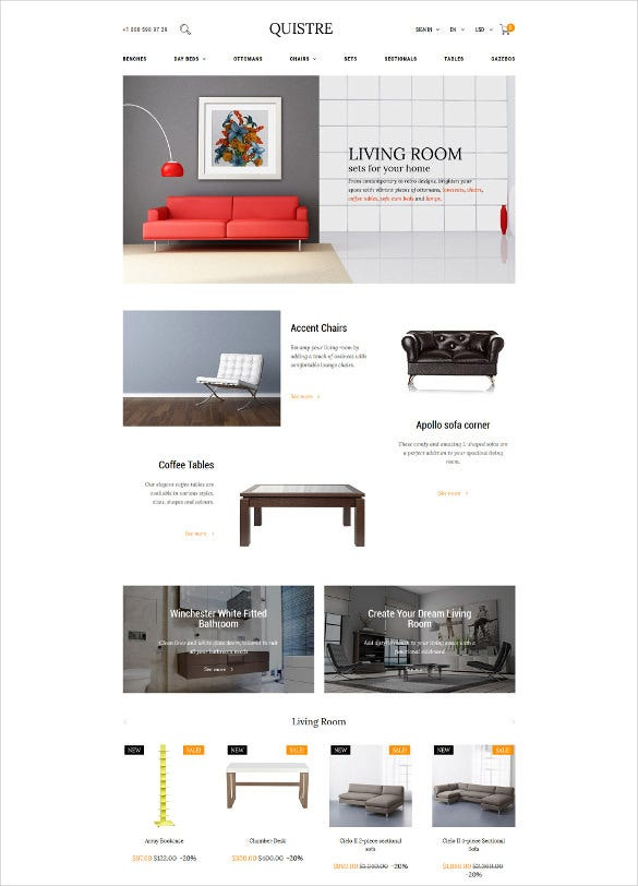 interior prestashop blog theme