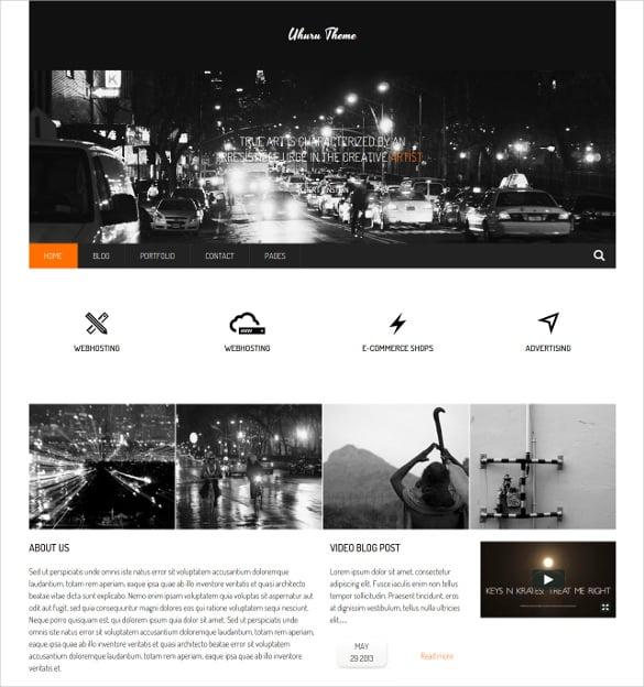 responsive multi purpose concrete5 theme 43