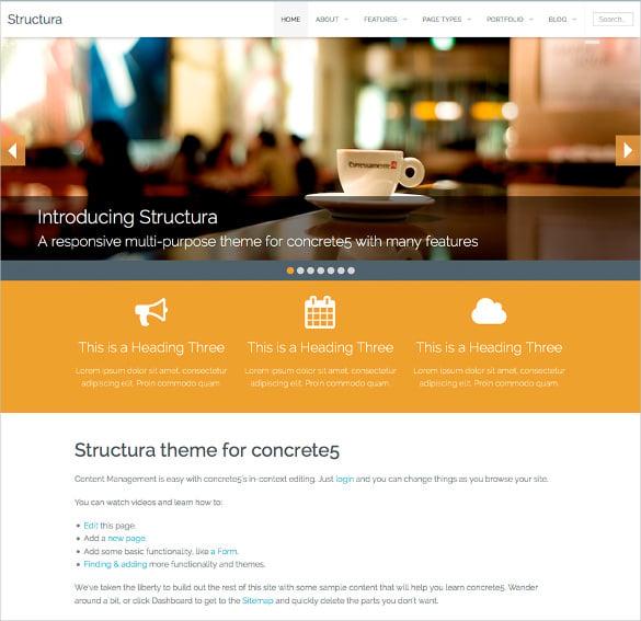corporate responsive multi purpose concrete5 theme 48