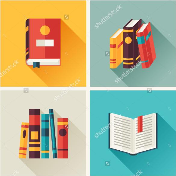 book icon vector set download