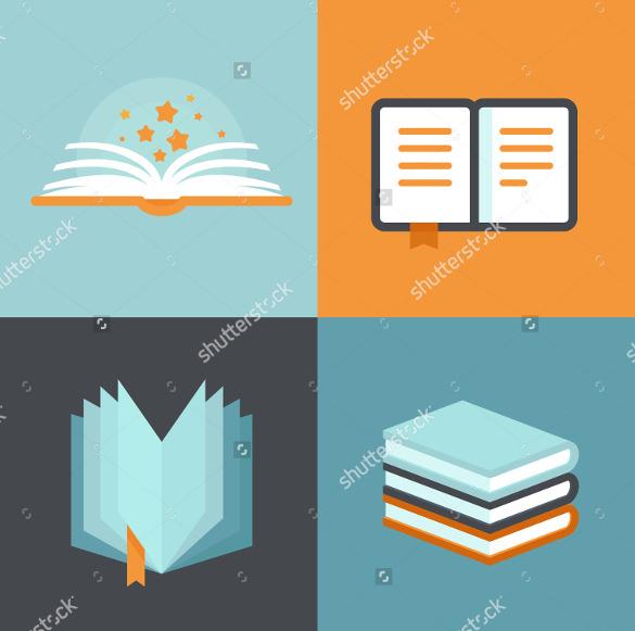 vector book icon download