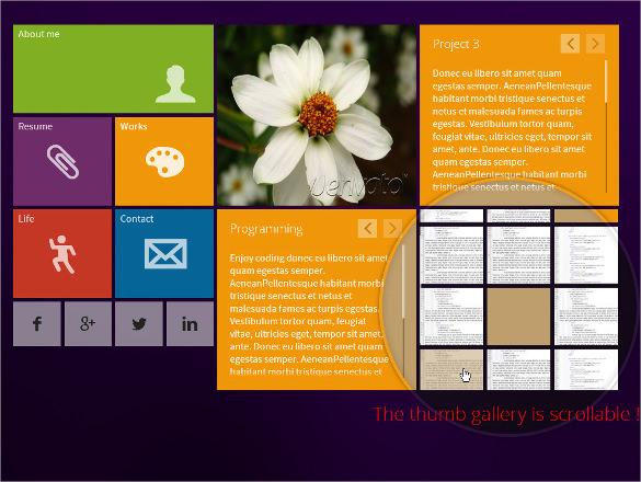 modern concrete5 responsive vcard theme 43