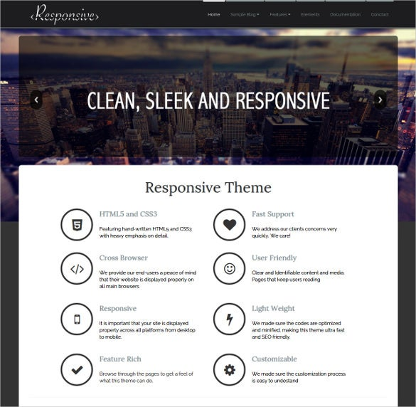 responsive concrete5 theme 40