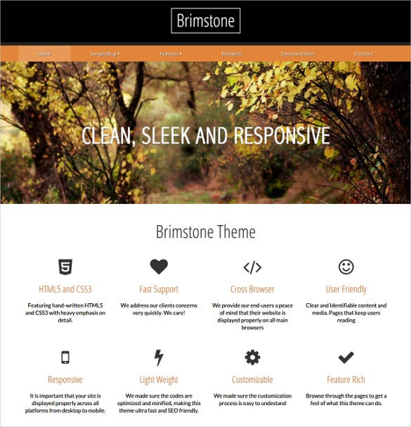 simple responsive concrete5 theme 40