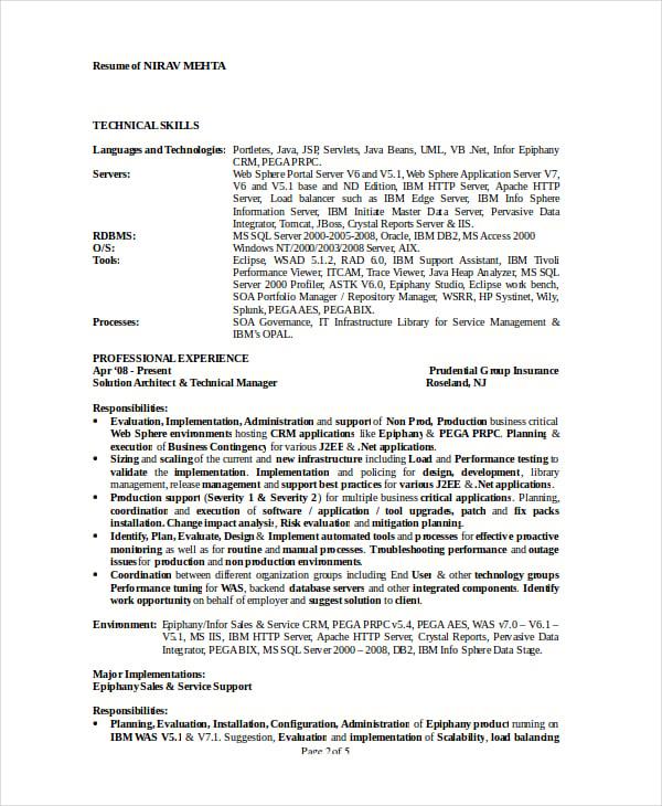 obiee admin resume  obiee architect resume architect resume sample resumes architect  obiee