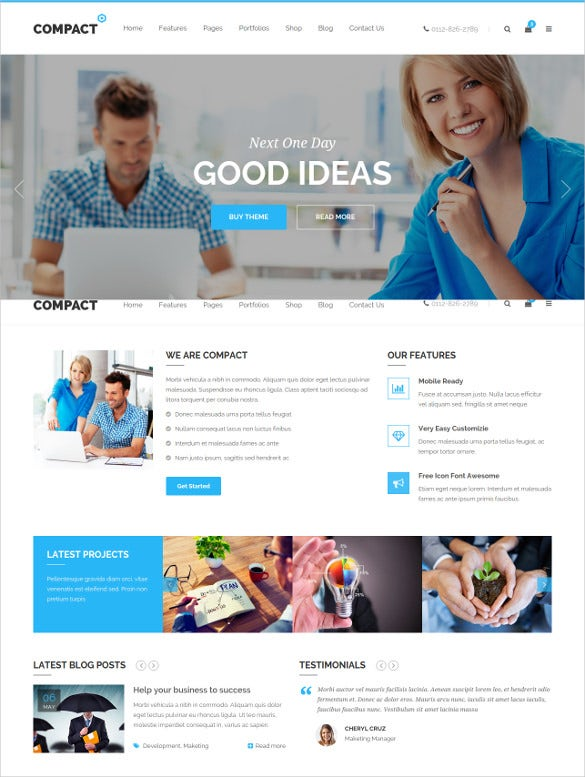 corporate multi purpose html blog template
