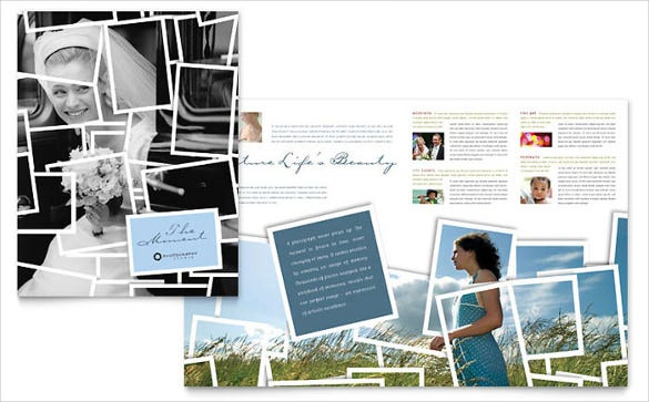photography brochure template - 40 free wedding templates in microsoft word format