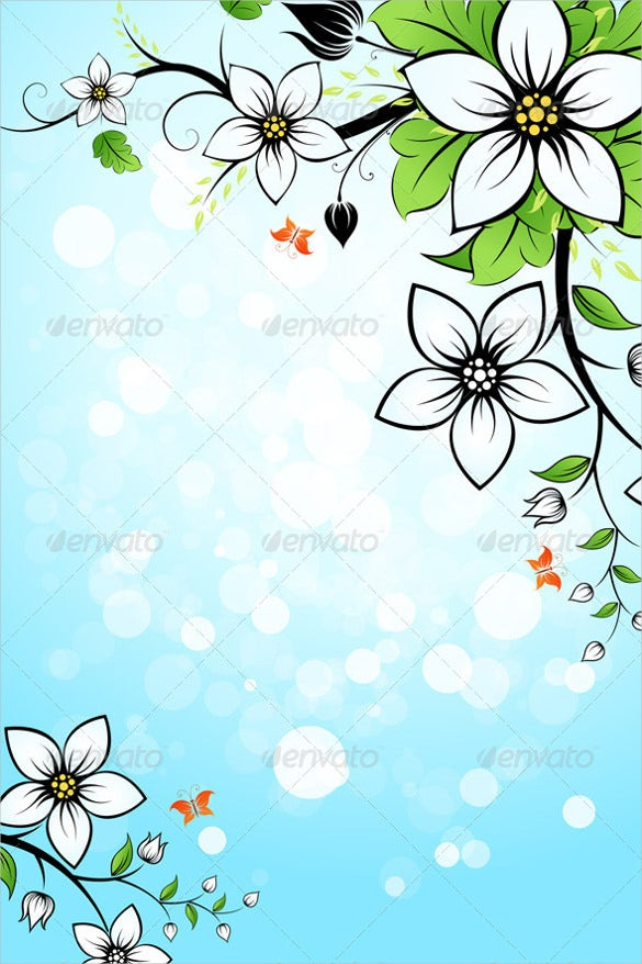 light green flower background for download