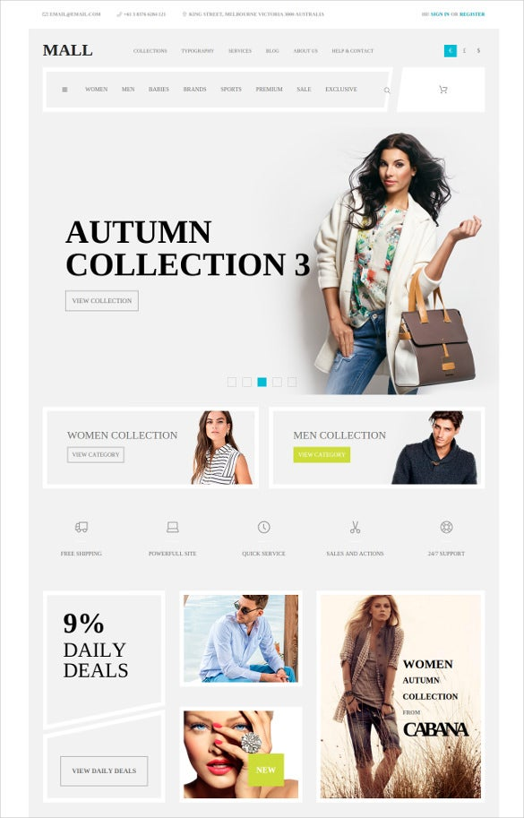 multi purpose ecommerce responsive joomla template
