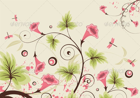 light colored flower background for download