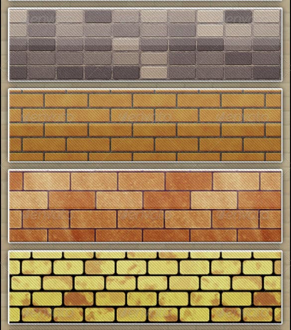 20 tileable brick textures set download