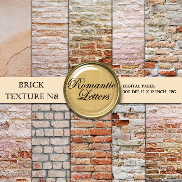 10 different brick wall texture download