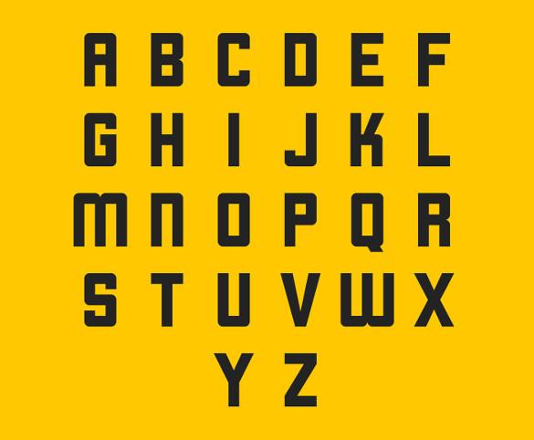 free retro font download