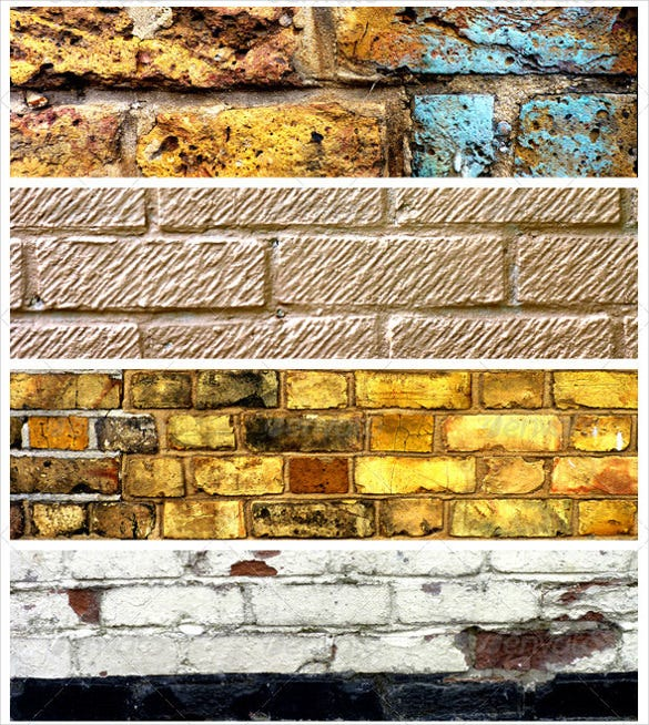12 rugged brick texture set download