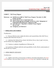 Sample Privacy Act Cover Sheet Free Download1
