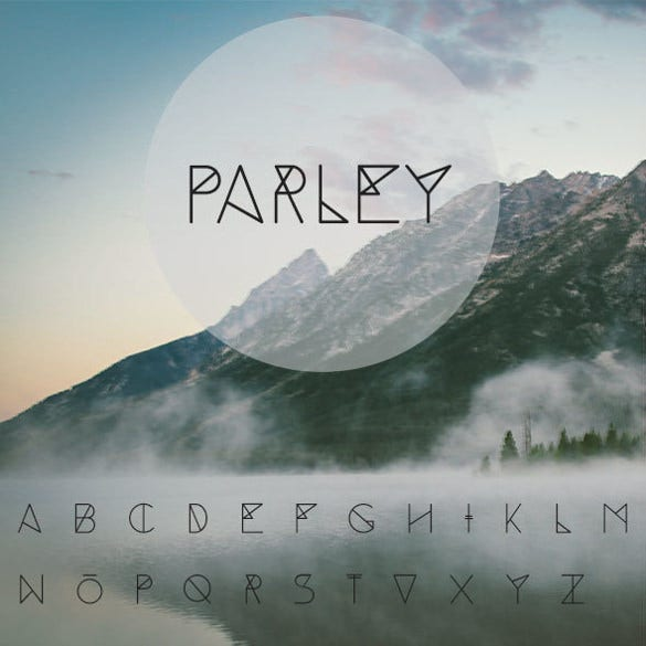 parley awesome retro font otf download