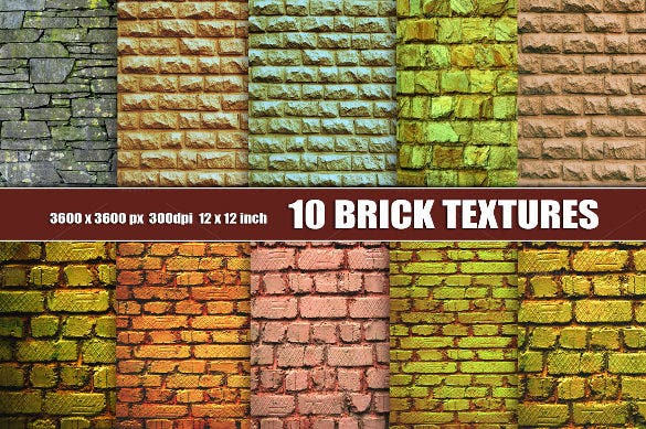 creative old grunge brick wall texture download