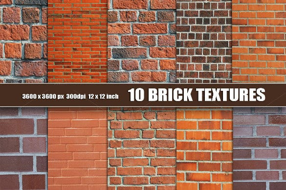 10 high quality brick textures download