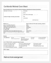 Eastern Health Confidential Referal Cover Sheet1