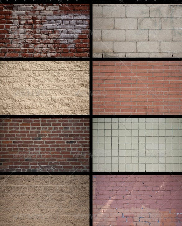 14 stunning brick wall texture set download