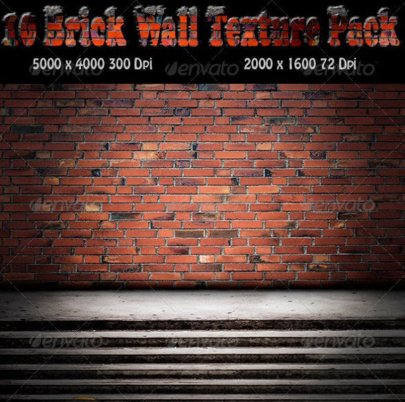 10 brick wall texture design pack download
