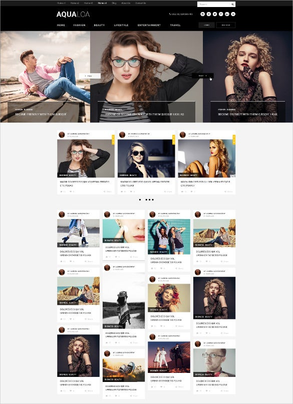 magazine news html wordpress template