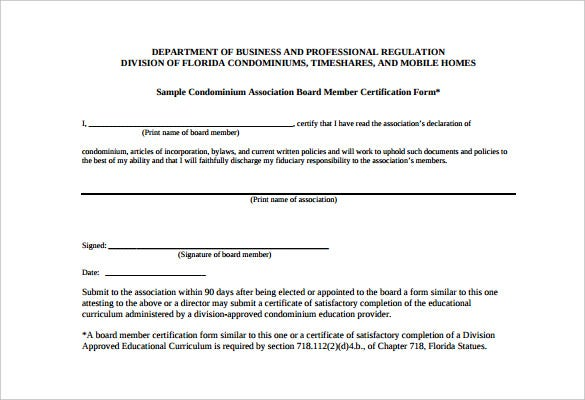 Llc membership certificate template fillable llc for Board member application template