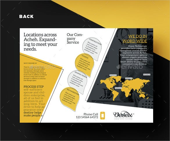 cool brochure template download