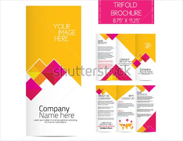 trifold business brochure download