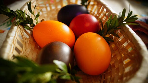 easter eggs hd background download