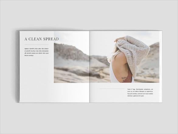 square brochure template download