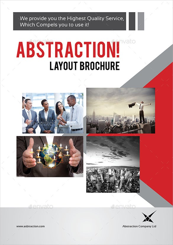 colorful business brochure download