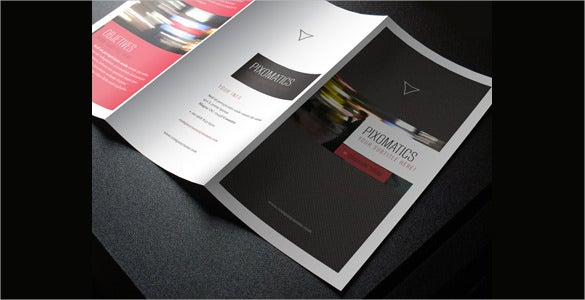 corporate trifold brochure template download