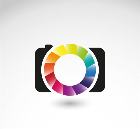 photography business logo free vector download