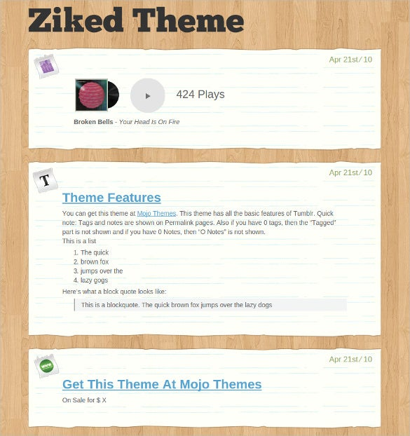 creative tumblr theme 14
