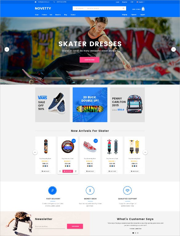 apperal store ecommerce template