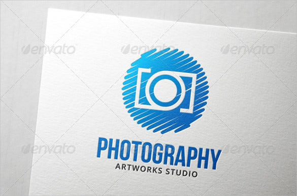 process photography logo psd download