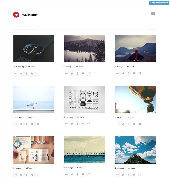 free wallstocker tumblr theme1