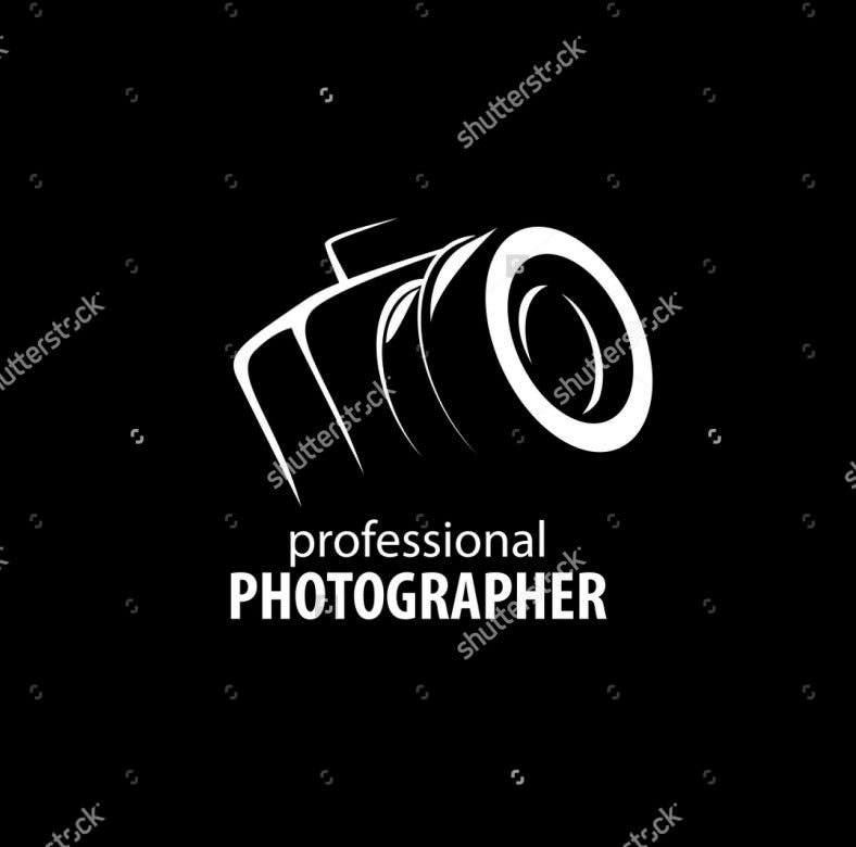 vector logo for photographer 788x780