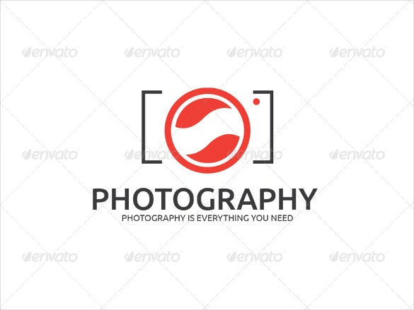 stylish photography logo psd download