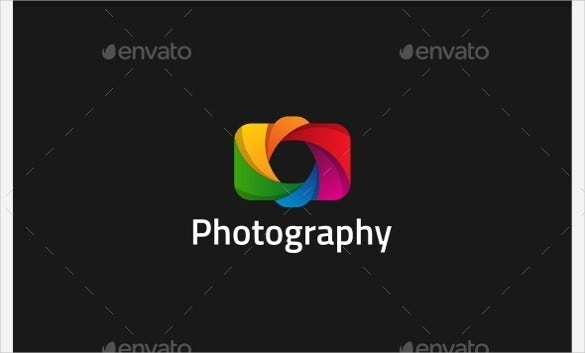 colorful photography logo download