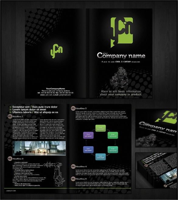 customisable brochure template