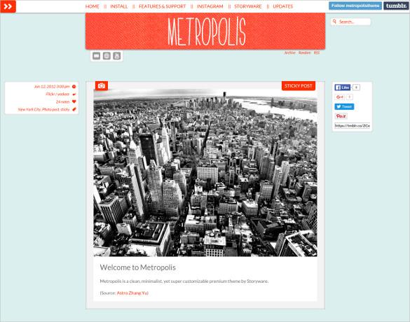 metropolis tumblr theme 19