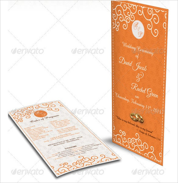 print ready wedding schedule template