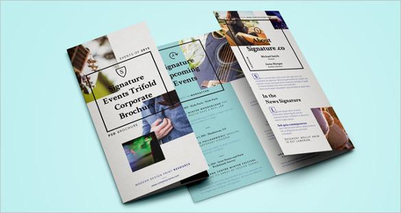 signature brochure template