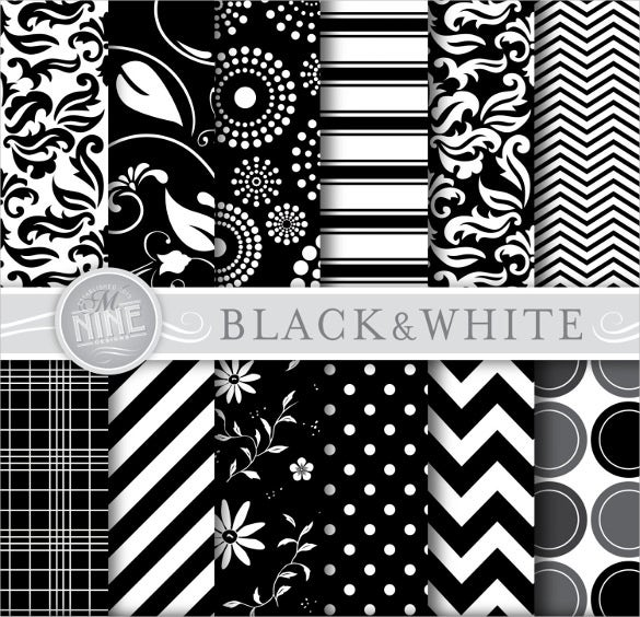 Black And White Pattern 251 Free Psd Vector Eps Ai Formats