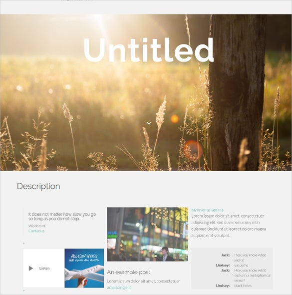 free animation tumblr theme1